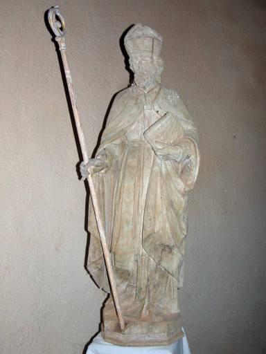 Statue : saint évêque, dit saint Martin