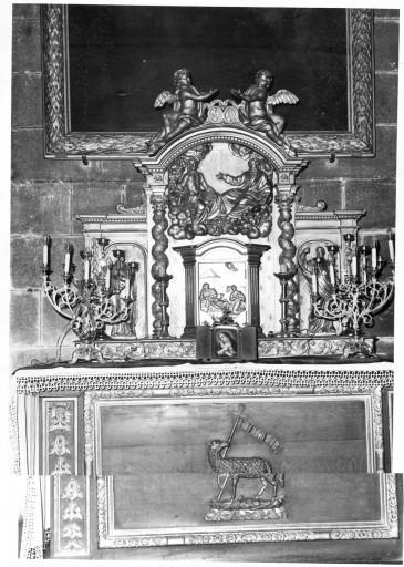 autel ; gradin d'autel ; tabernacle