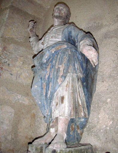 Statue : saint Pierre ?