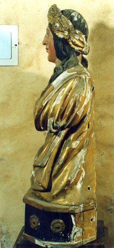 Buste-reliquaire : sainte Valérie