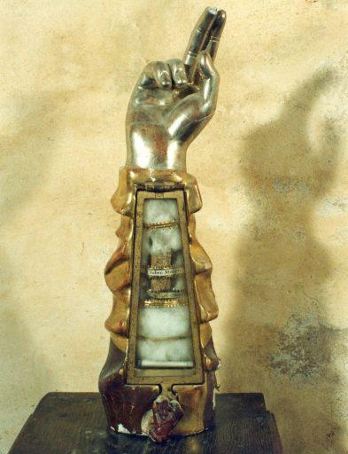 Bras-reliquaire de saint Julien