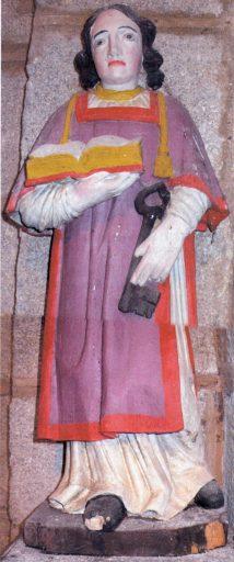 2 statues-reliquaires : saint Israël et saint Théobald