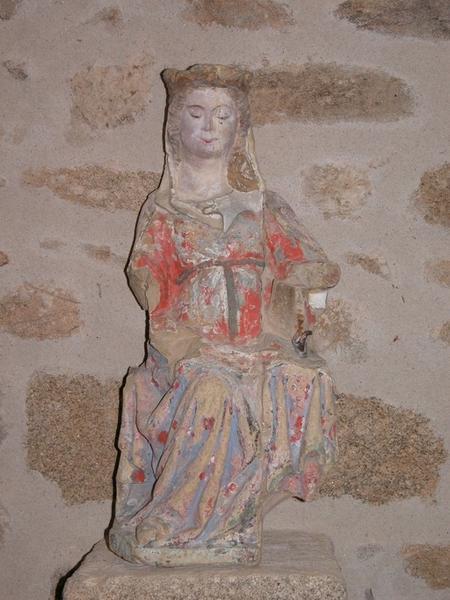 Statue : Vierge à l 'Enfant