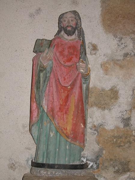 Statue : saint Barthélémy