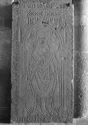 Dalle funéraire de Jean de Peyzac