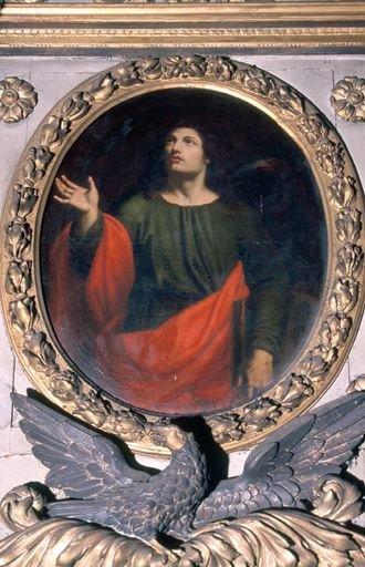 3 tableaux : l'Assomption, saint Jean, saint Joseph (retable de la chapelle de la Vierge)