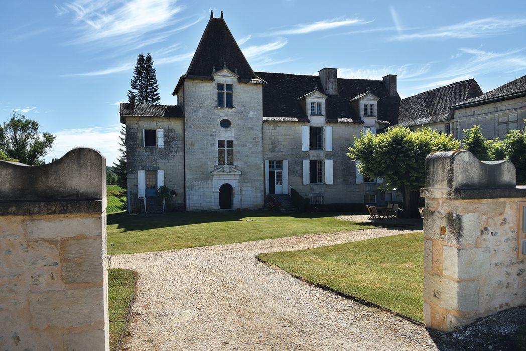 Château: Ensemble ouest, vue générale