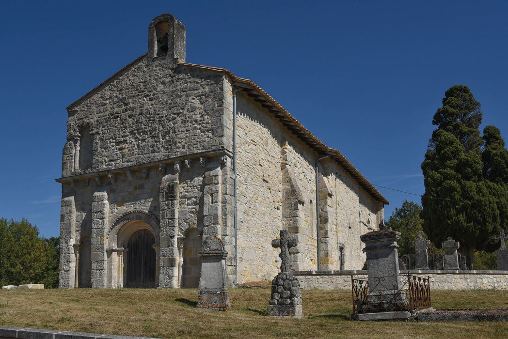 Eglise Sainte-Madeleine: Ensemble sud-ouest, vue générale