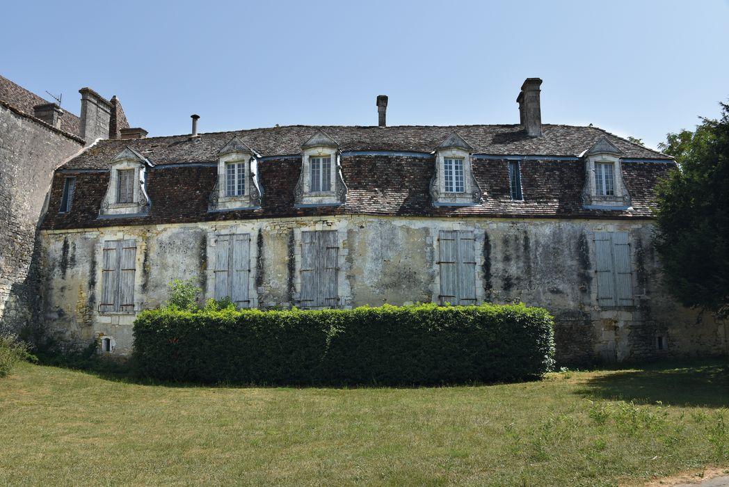 Château: Façade nord, vue générale