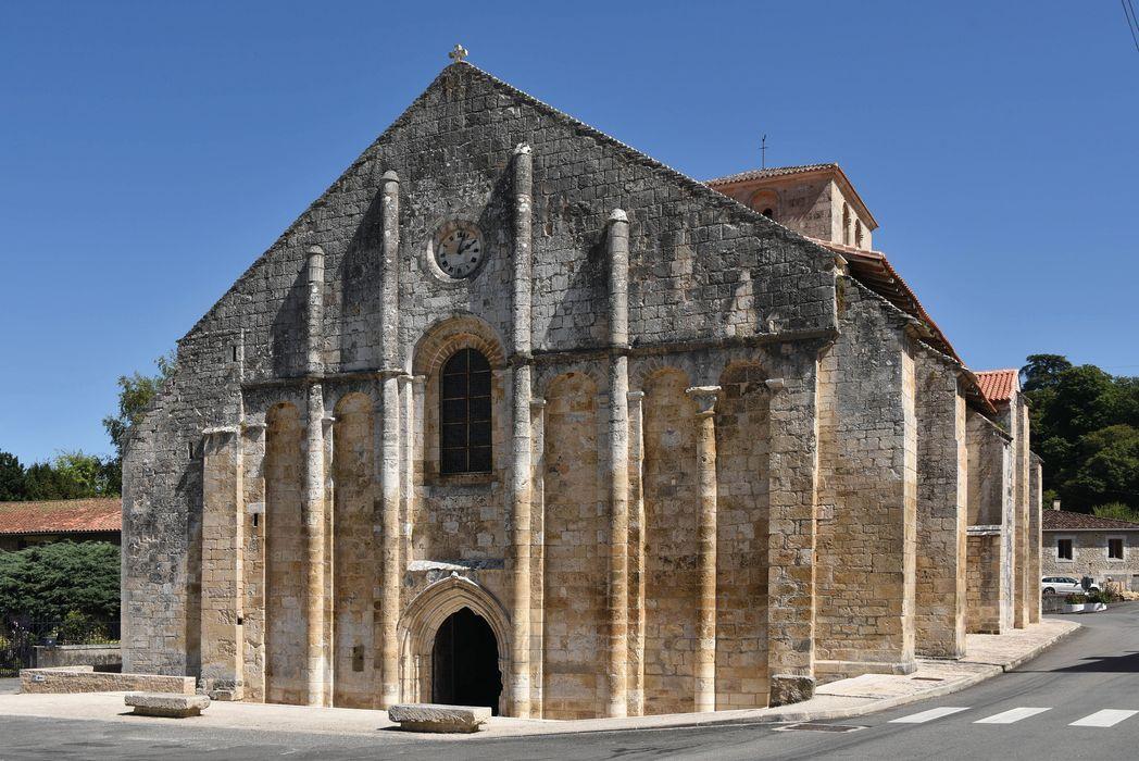 Eglise Saint-Nicolas: Façade occidentale, vue générale