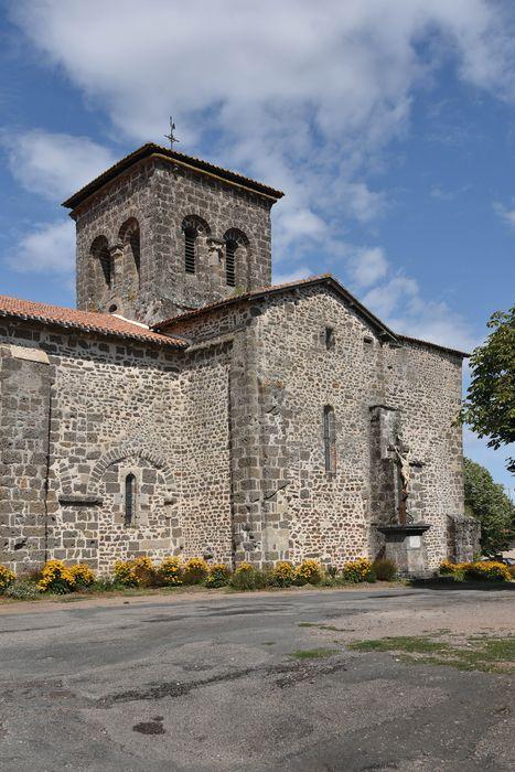 église Saint-Jean Baptiste: Façade latérale sud, vue générale