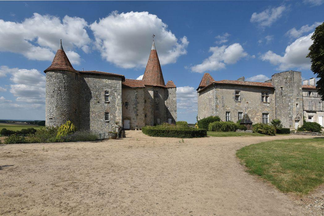 Château: Ensemble sud, vue générale
