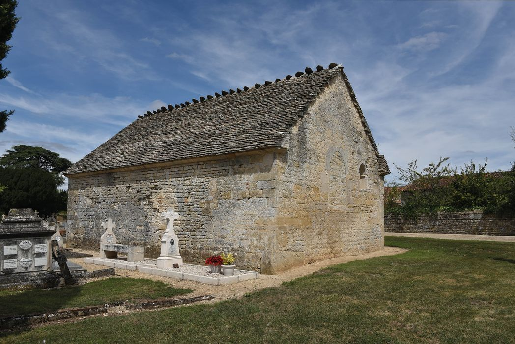 Chapelle Saint-Antoine du cimetière: Ensemble sud-ouest, vue générale