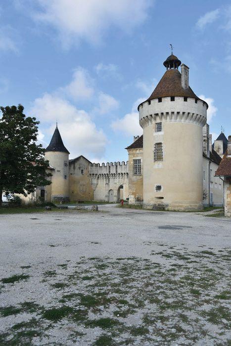 Château de l'Oisellerie: Ensemble est, vue générale