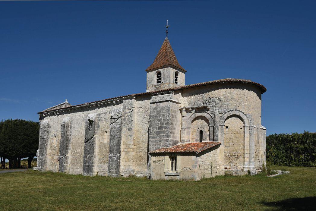 Eglise Saint-Médard: Ensemble sud-est, vue générale
