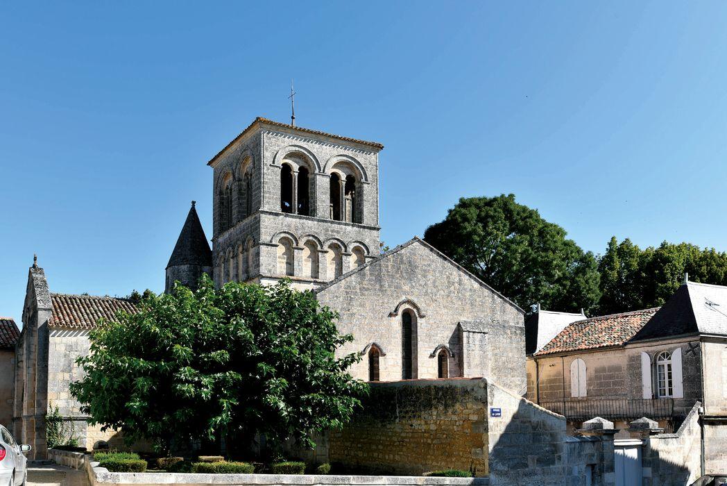 Eglise Saint-Cybard: Ensemble sud, vue générale