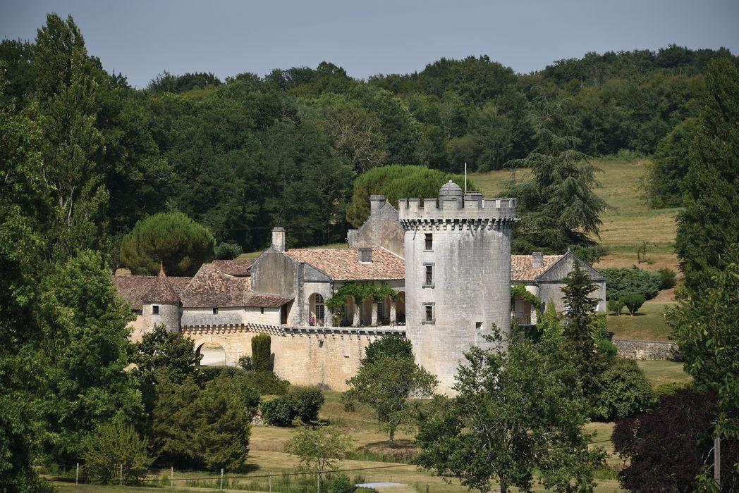 Château du Repaire: Ensemble ouest, vue générale