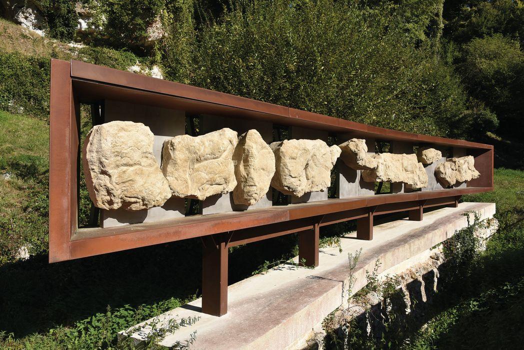 Gisement préhistorique: Vue partielle