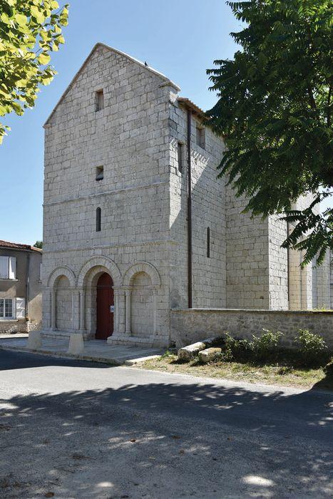 Eglise Notre-Dame: Façade nord-ouest, vue générale