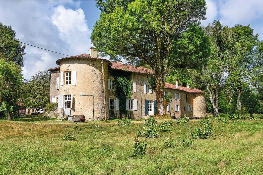 Logis de la Vergne, maison de Maria Casarès: Ensemble nord-est, vue générale