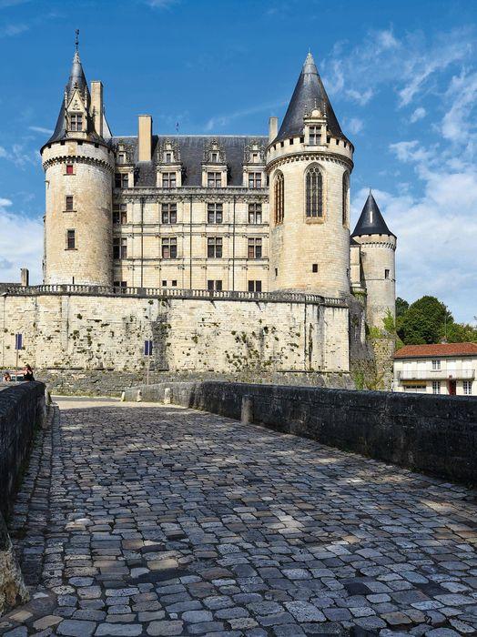 Château: Ensemble est, vue générale
