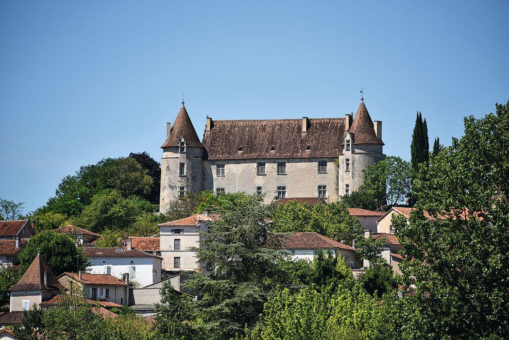 Château: Ensemble est, vue partielle