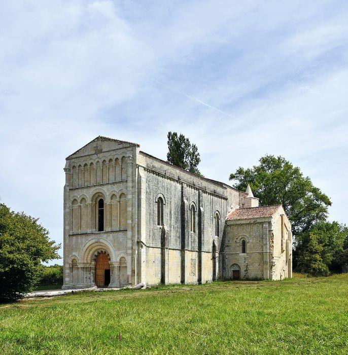 Eglise de Châtres: Ensemble nord-est, vue générale