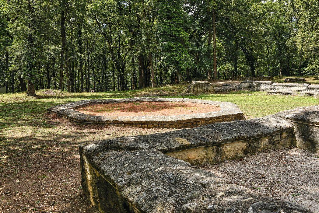 Théâtre gallo-romain dit des Bouchauds: Vue générale