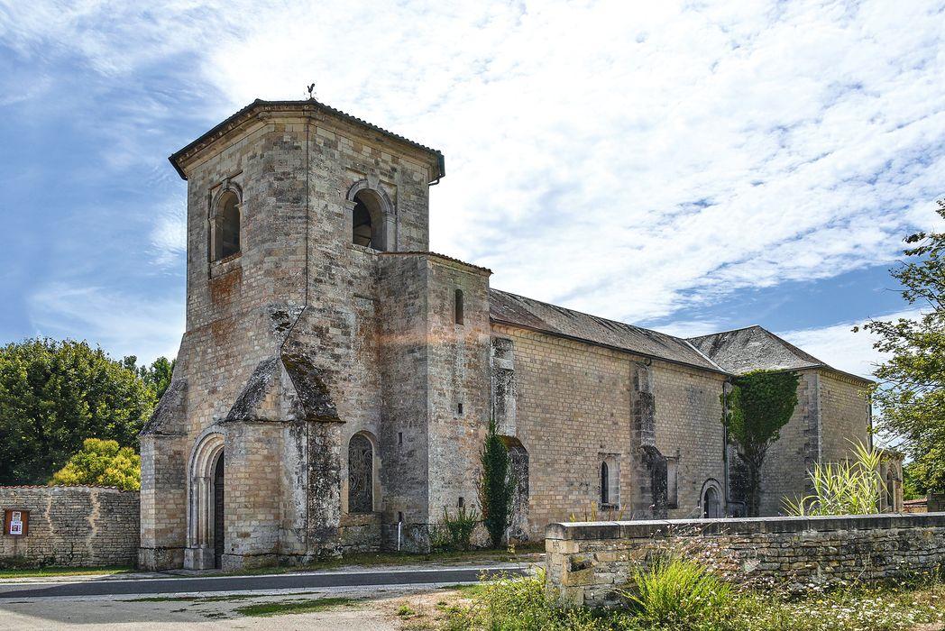 Eglise Saint-Fraigne: Peintures monumentales, vue partielle