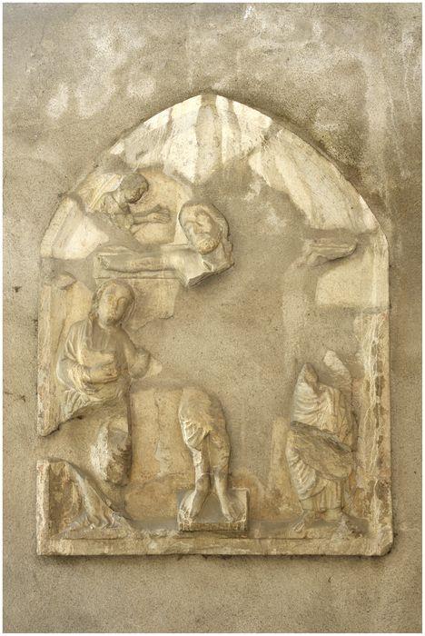 Bas-relief : La Crucifixion