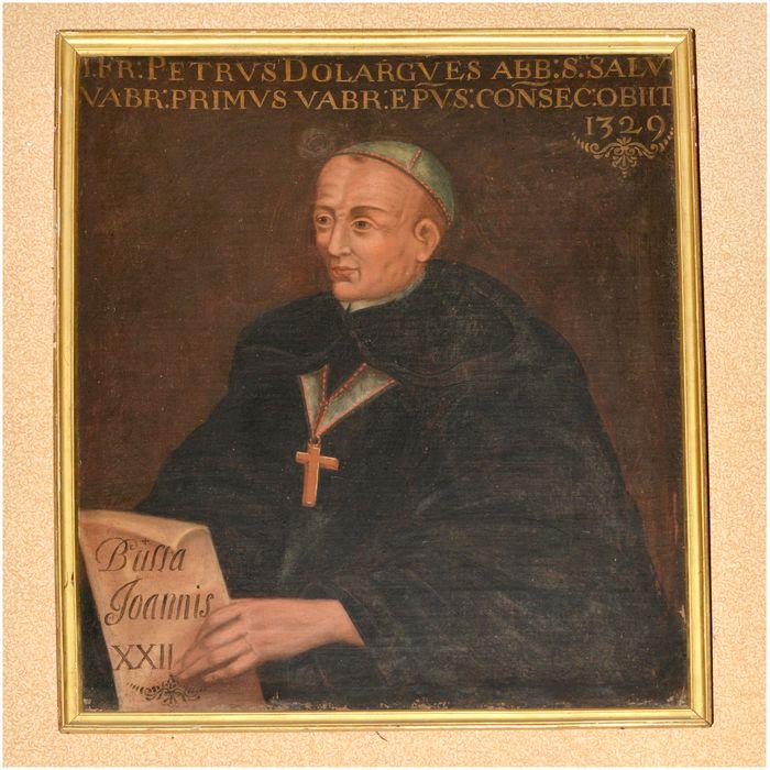 Tableau, cadre : portrait de Pierre d'orlagues