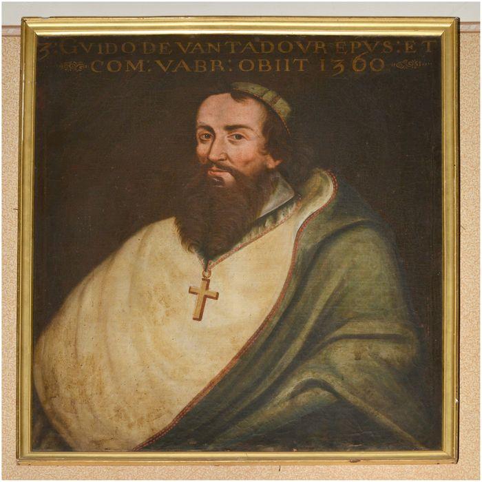 Tableau, cadre : portrait de Guy de Ventadour