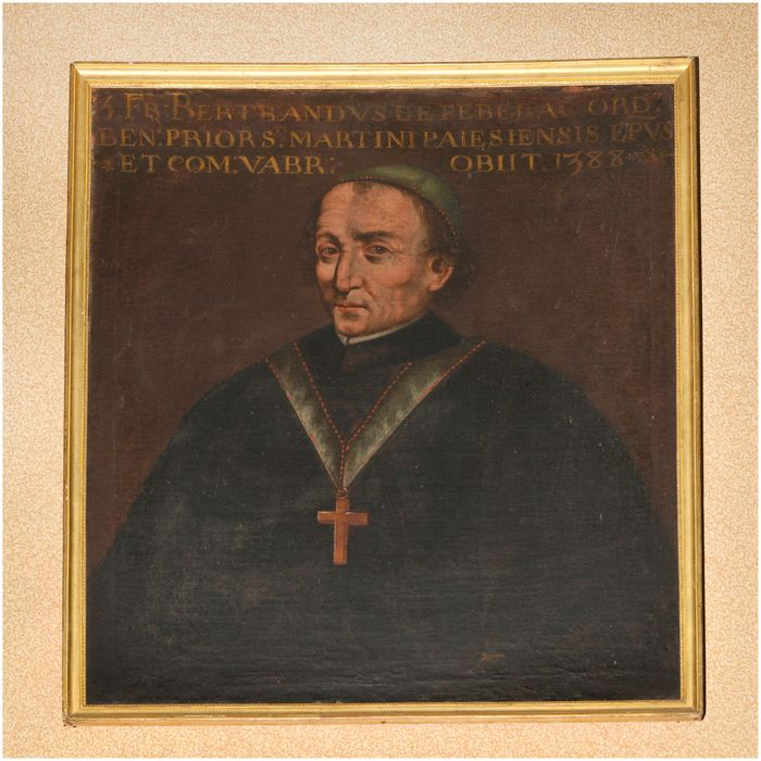 Tableau, cadre : portrait de Bertrand de Pebrac