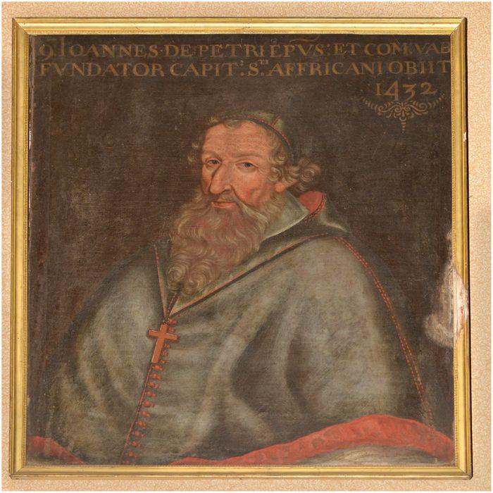 Tableau, cadre : portrait de Jean de Peyre