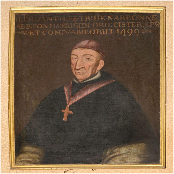 tableau, cadre : portrait d'Antoine de Peyre de Narbonne
