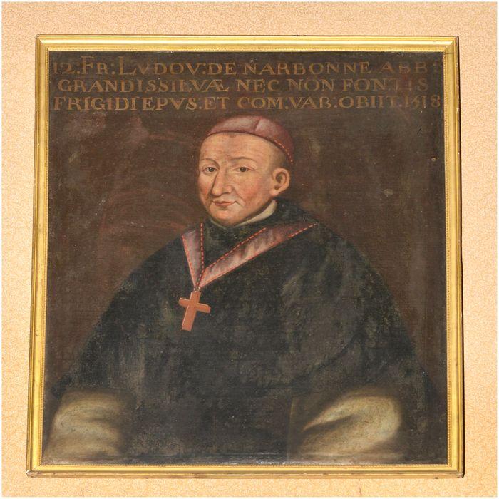 Tableau, cadre : portrait de Louis de Narbonne