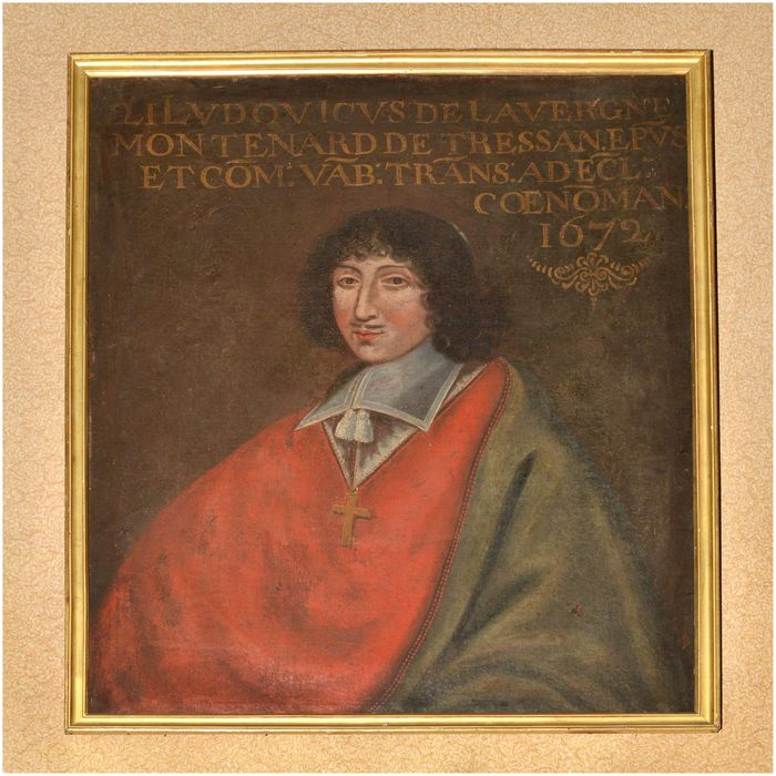 tableau, cadre : portrait de Louis de Lavergne de Monténard de Tressan