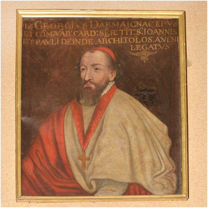 Tableau, cadre : portrait de Georges, cardinal d'Armagnac