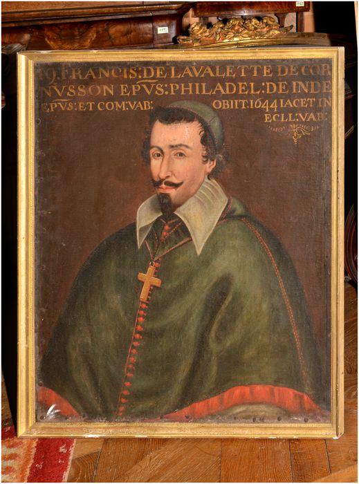Tableau, cadre : portrait de François III de la Valette-Cornusson