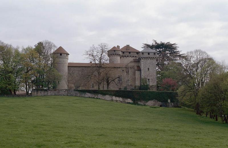 Château de la poype de Serrières