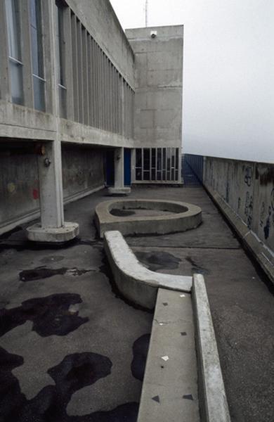 Unité d'habitation construite par Le Corbusier