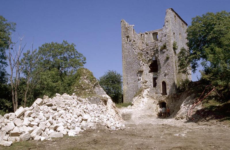 Donjon de Buenc (ruines)