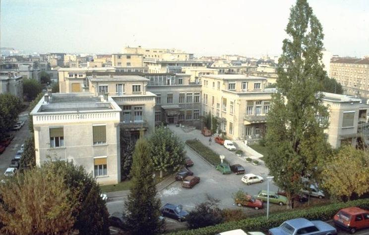 Hôpital Edouard-Herriot, à Grange-Blanche