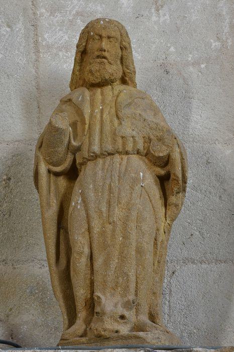 Statue : Saint Luc