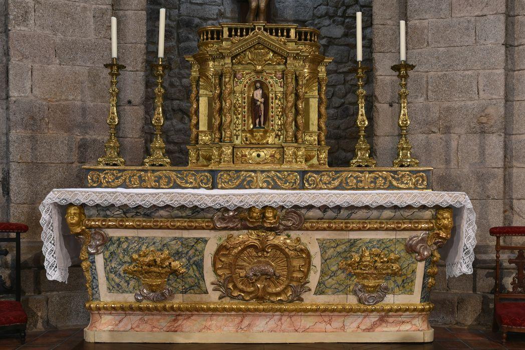 autel du Saint-Sacrement, vue générale