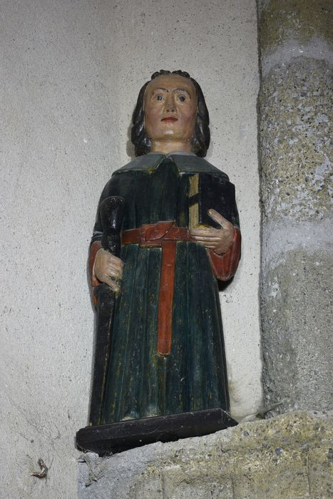 statue : Saint Paul, vue générale