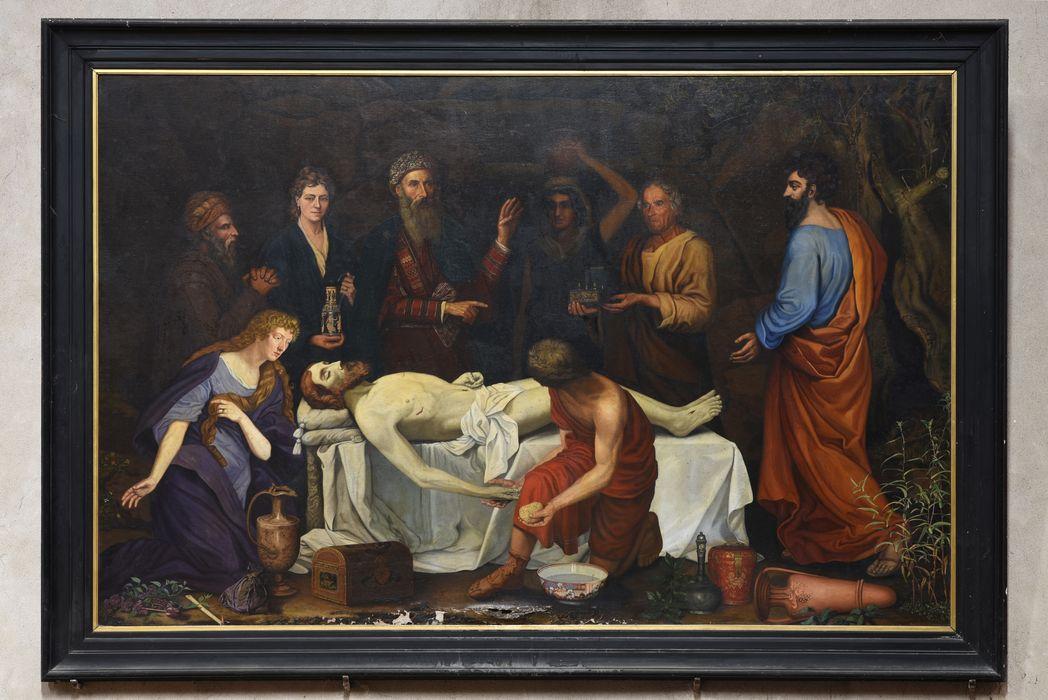 tableau : Lavement du Christ, vue générale