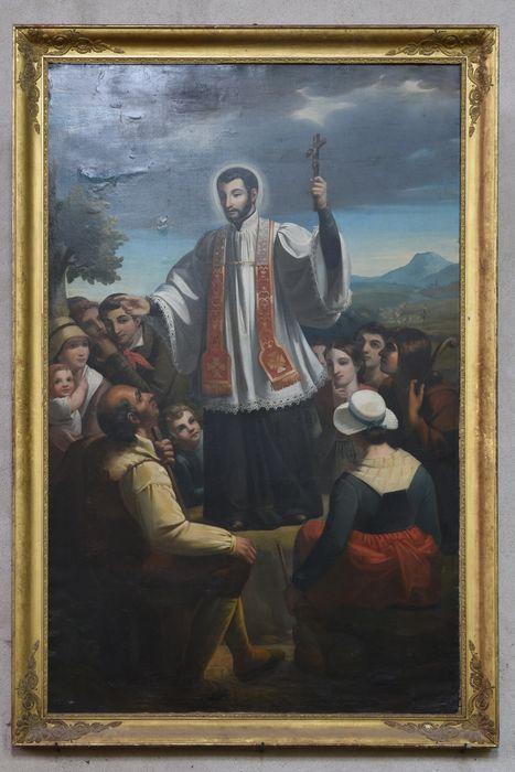 Tableau : Saint François Régis prêchant, vue générale