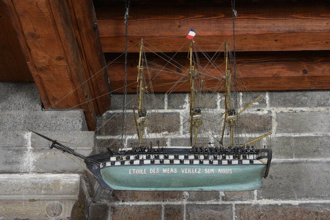 Maquette de bateau ex-voto St-Joseph