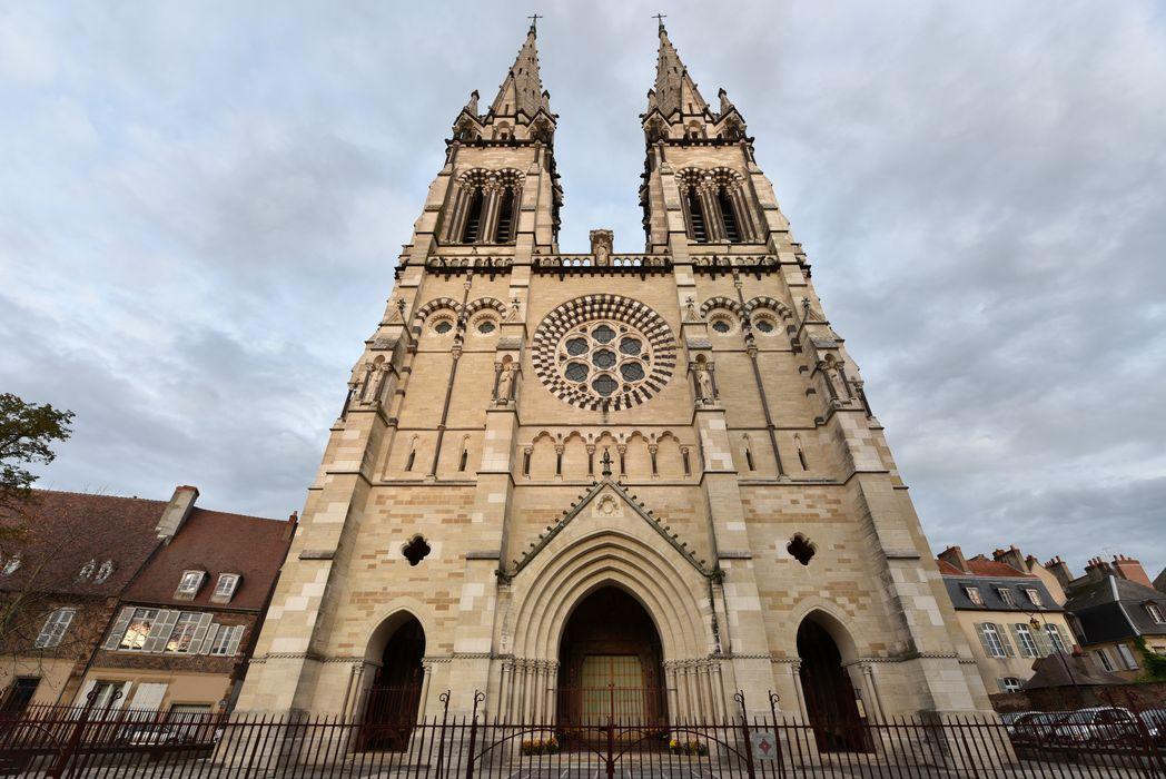 Cathédrale Notre-Dame: façade occidentale, vue générale
